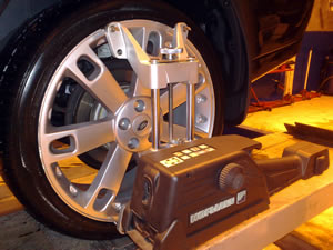 4 Wheel Alignment by Moorfield Motor Services, Kilmarnock, Ayrshire