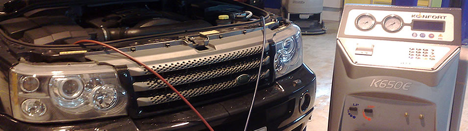 Car Air Conditioning Service by Moorfield Motor Services, Kilmarnock, Ayrshire