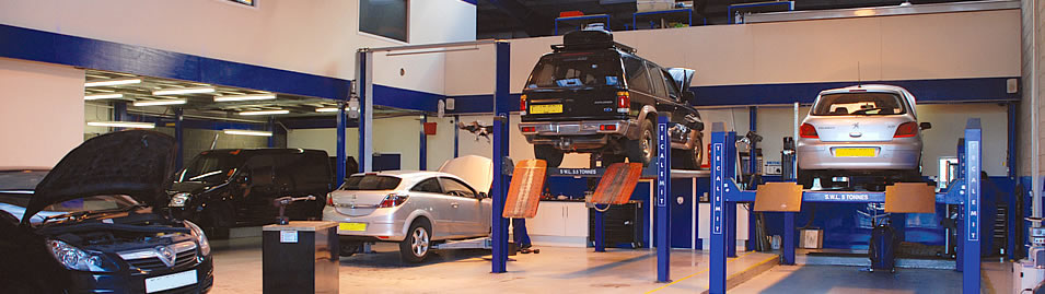 The law has changed - you are free to have your car serviced here, from new